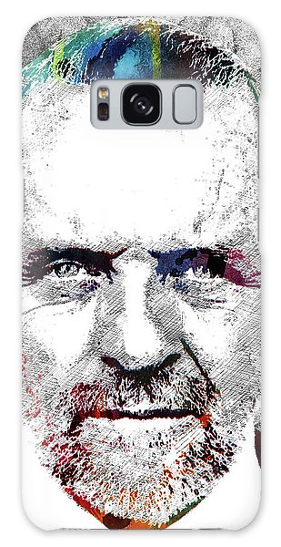 Antony Hopkins Galaxy Case by Mihaela Pater