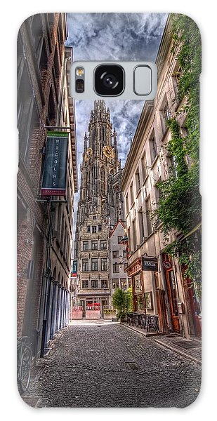 Antwerp Cathedral Galaxy Case