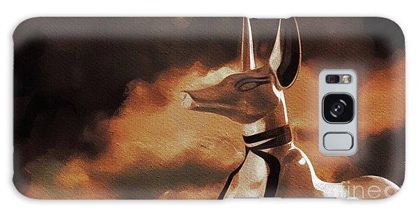 Anubis Galaxy Case - Anubis, God Of Egypt by Pierre Blanchard
