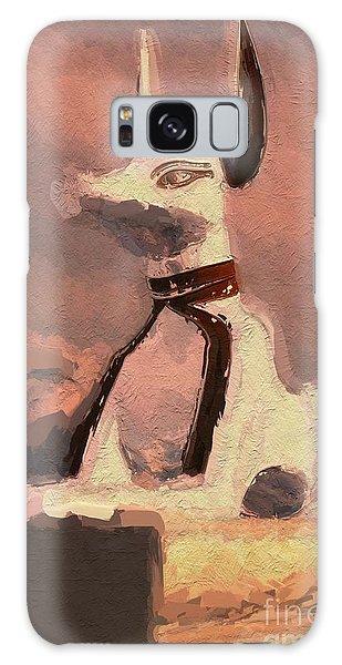 Anubis Galaxy Case - Anubis - God Of Egypt by Raphael Terra