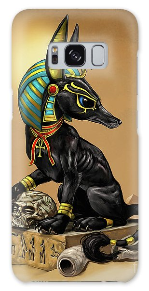 Anubis Egyptian God Galaxy Case