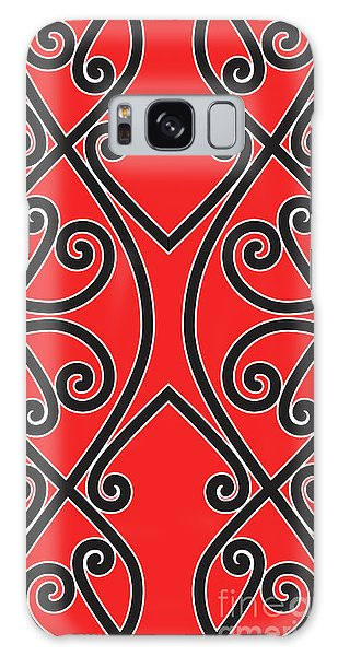 Galaxy Case featuring the digital art Aotearoa Koru by Brian Gibbs