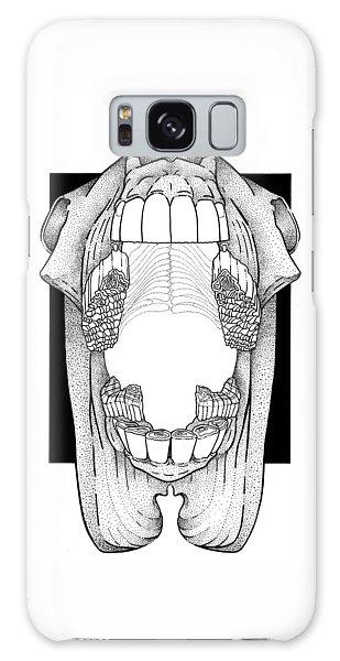Ap View Dental Skull Galaxy Case