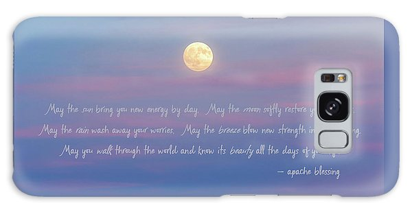 Apache Blessing Harvest Moon 2016 Galaxy Case