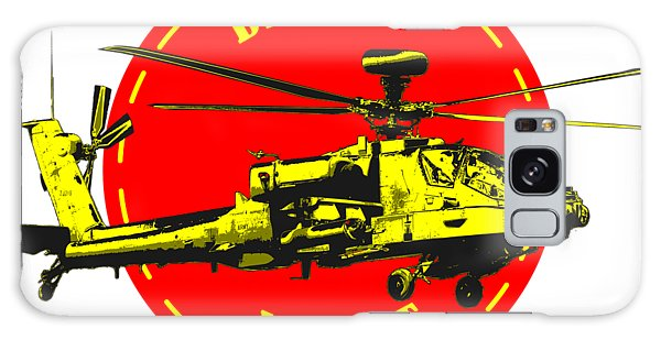 Apache On Desert Galaxy Case