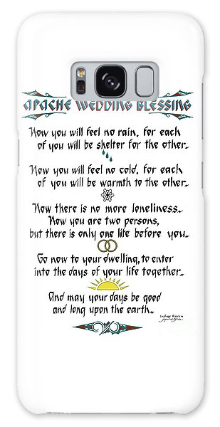 Apache Wedding Blessing Galaxy Case
