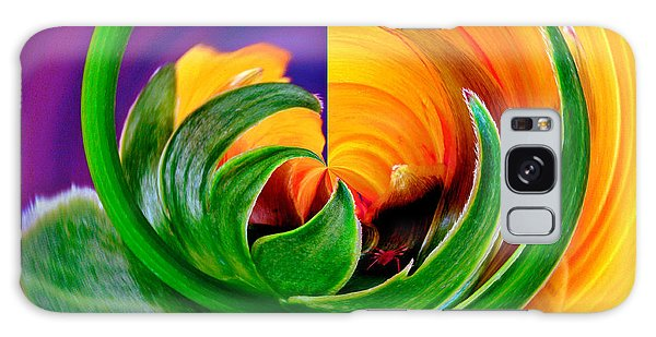Aphid Hidden In Flower Galaxy Case