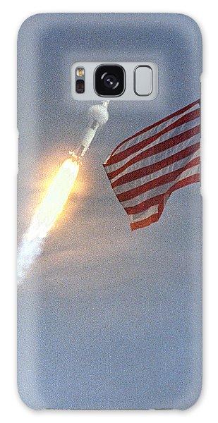 Apollo 11 Launch Galaxy Case