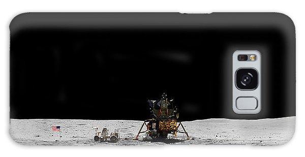 Apollo 16 Landing Site Panorama Galaxy Case