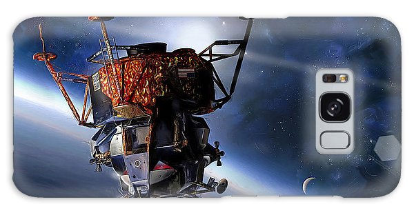 Apollo 9 Lunar Module Galaxy Case