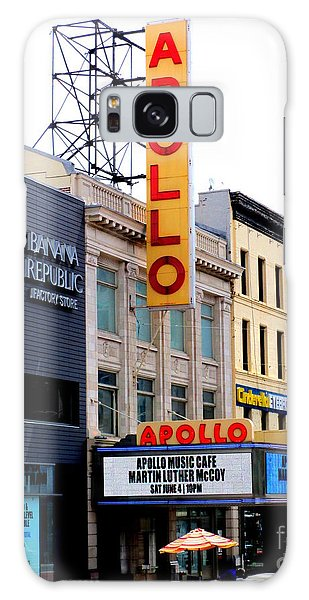 Apollo Theater Galaxy Case by Randall Weidner