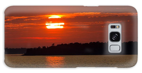 Apostle Island Sunset Galaxy Case