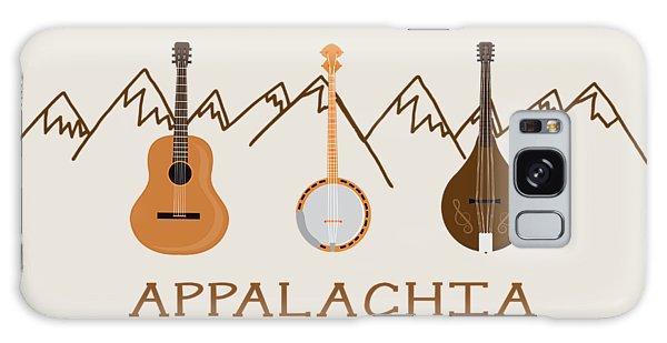Appalachia Mountain Music Galaxy Case by Heather Applegate