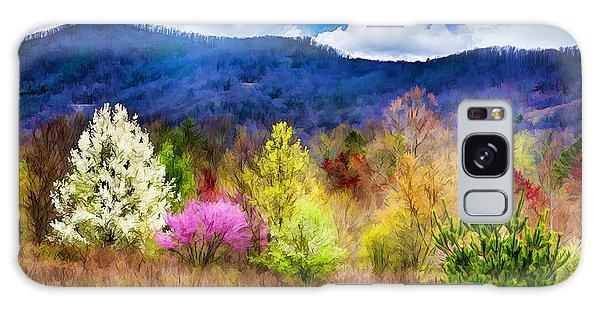 Appalachian Spring In The Holler Galaxy Case