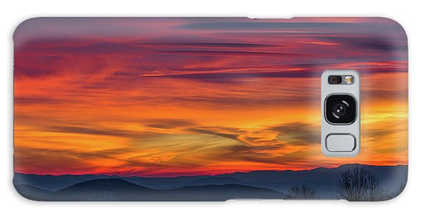 Appalachian Twilight Ecstasy Galaxy Case by Carl Amoth