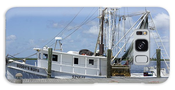 Appalachicola Shrimp Boat Galaxy Case by Laurie Perry