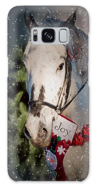 Appaloosa Christmas Galaxy Case