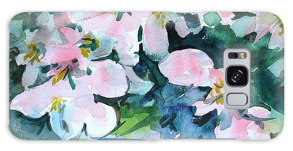 Apple Blossom Time Galaxy Case by Len Stomski
