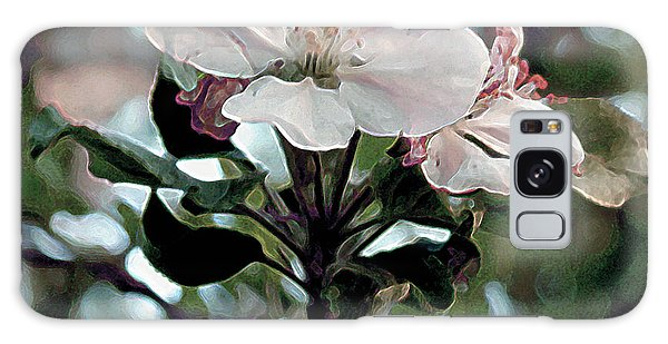 Apple Blossom Time Galaxy Case by RC deWinter