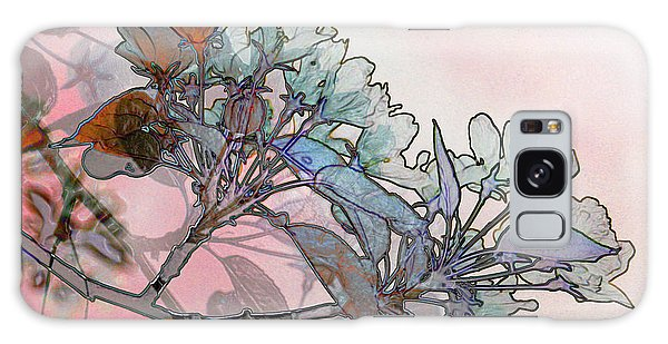 Apple Blossoms Galaxy Case by Stuart Turnbull