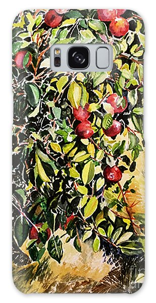 Galaxy Case featuring the painting Apple Tree by Priti Lathia
