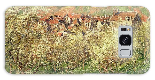 Crt Galaxy Case - Apple Trees In Blossom by Claude Monet