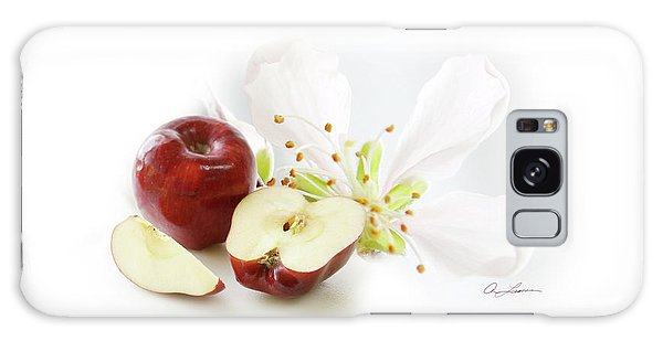 Apples And Blossom Galaxy Case
