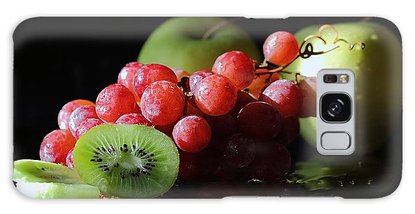 Apples, Grapes And Kiwi  Galaxy Case