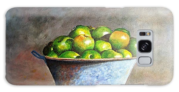 Apples In A Rusty Bucket Galaxy Case