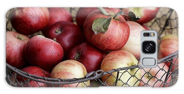 Metal Leaf Galaxy Case - Apples by Nailia Schwarz