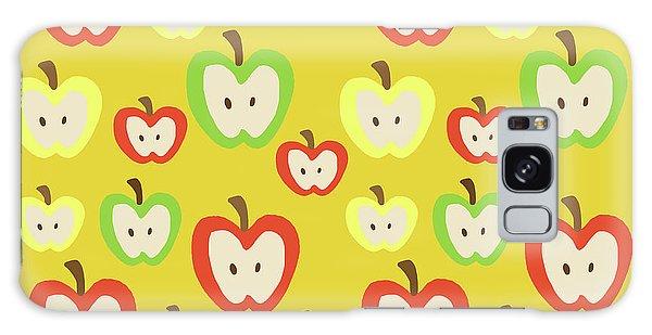 Apples Galaxy Case by Nicole Wilson