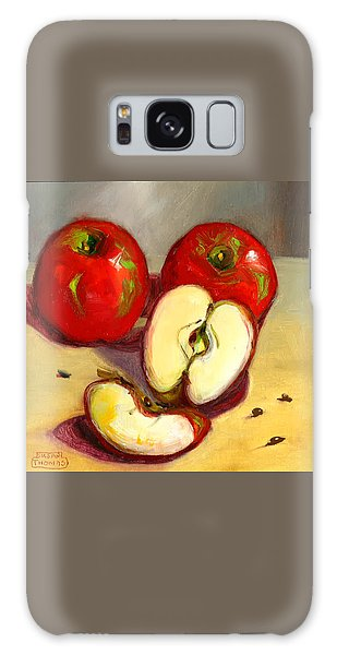 Apples Galaxy Case by Susan Thomas
