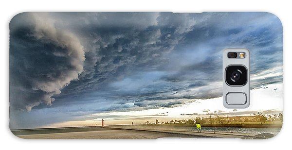 Galaxy Case featuring the photograph Approaching Storm by Steven Santamour