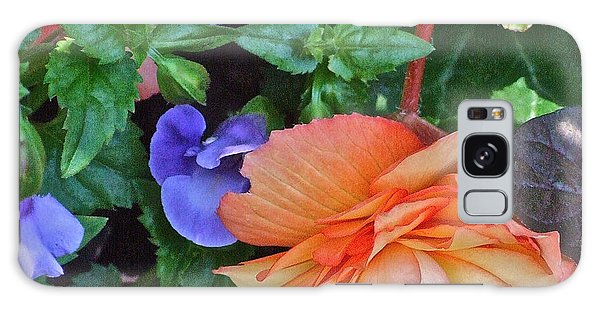 Apricot Begonia 1 Galaxy Case