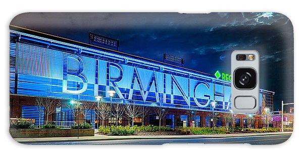 April 2015 -  Birmingham Alabama Baseball Regions Field At Night Galaxy Case