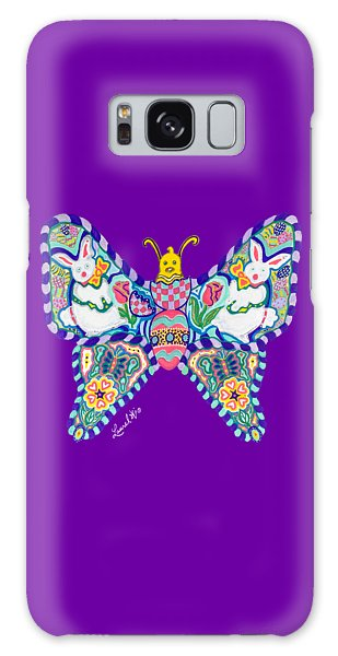 April Butterfly Galaxy Case
