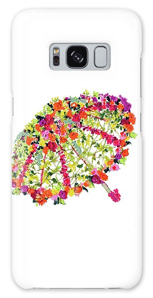 April Showers Bring May Flowers Galaxy Case
