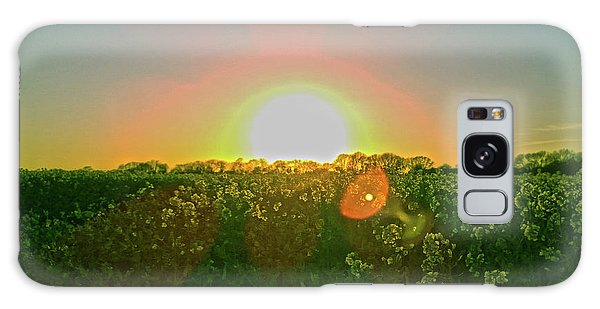 Galaxy Case featuring the photograph April Sunrise by Anne Kotan