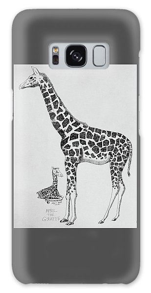 April The Giraffe Galaxy Case