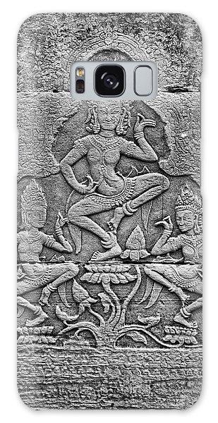 Galaxy Case featuring the photograph Apsaras 3, Angkor, 2014 by Hitendra SINKAR