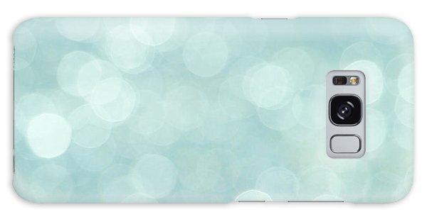 Aqua Abstract Galaxy Case