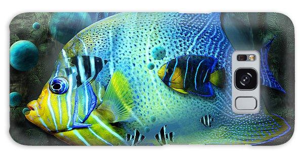 Aqua Fantasy Art World Galaxy Case