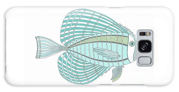 Aqua Fish Galaxy Case