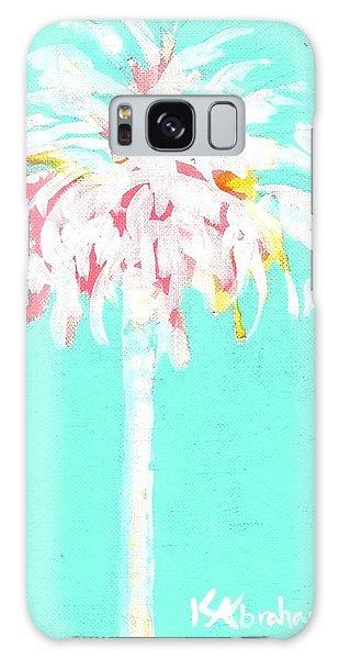Aqua Marine Palm Galaxy Case