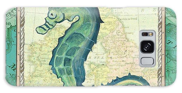 Aqua Maritime Seahorse Galaxy S8 Case