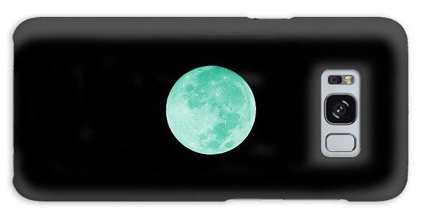 Aqua Moon Galaxy Case