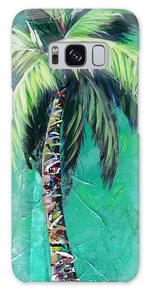 Aqua Palm Galaxy Case