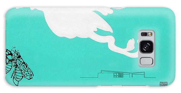 Aqua Palm Springs Idyll Galaxy Case