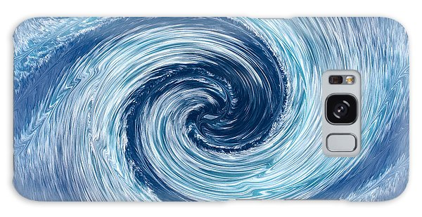 Aqua Swirl Galaxy Case