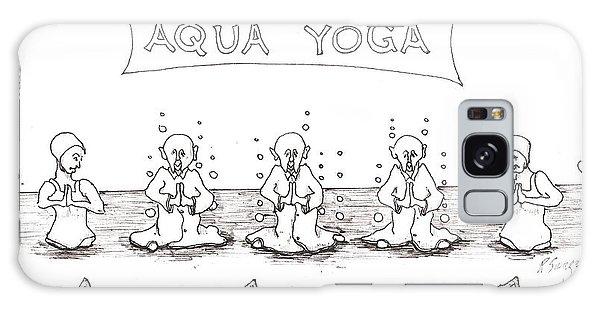 Aqua Yoga Galaxy Case